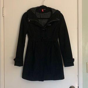 Black Coat w/ Hood